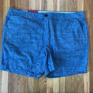 Chambray Chino Shorts